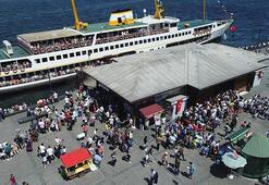 İstanbullular bayram etti