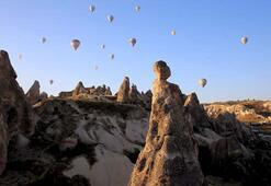Kapadokyada bayram yoğunluğu
