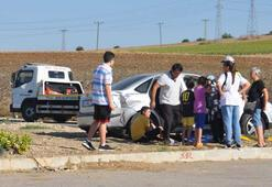 Tekirdağda kaza 2si çocuk 3 yaralı