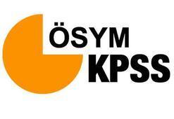 KPSS sınav sonuçları ne zaman açıklanacak ÖSYM belirledi