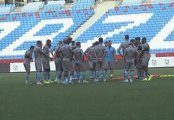 Trabzonsporda Sparta Prag maçı hazırlıkları devam ediyor
