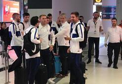 Chelsea, Süper Kupa finali için İstanbula geldi