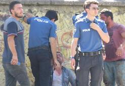 Maltepede kurban pazarında bıçaklı sopalı kavga
