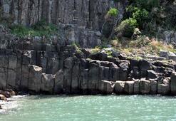 Türkiyenin 80 milyon yıllık lav sütunlarına yoğun ilgi