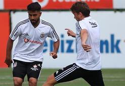 Beşiktaşta Atiba ve Roco takımdan ayrı çalıştı