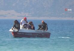 Ailesi ile geldiği Salda Gölü'nde can verdi