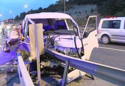 Çekmeköyde kaza: aynı aileden 5 kişi yaralandı