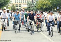 18. yıla özel bisiklet turu