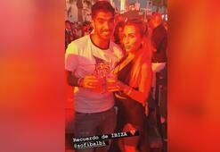 Luis Suarez eşi ile İbizada doyasıya eğlendi