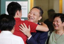 Hong Kongda Şemsiye Devrimi protestolarının lideri serbest