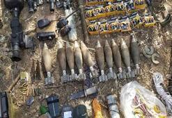 Pençe Harekâtında teröristlere ait silah ve malzeme ele geçirildi