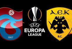 Trabzonspor-AEK play-off maçı ne zaman oynanacak AEKyı tanıyalım