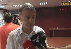 Ahmet Ağaoğlu: Trabzonsporun hedefi her zaman zirvedir