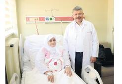'Türk doktorlar bana can verdi'