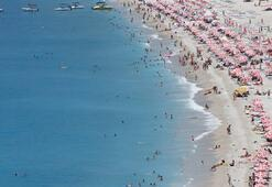 Marmaris plajları rengârenk