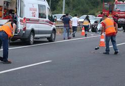 Bayram dönüşü TEM'de feci kaza