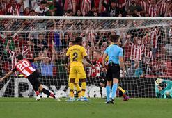 Veteran golcü oyuna girdi, 1 dakika sonra Barçayı yıktı