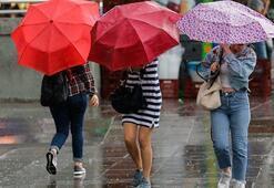 Pazar günü hava durumu nasıl olacak Meteorolojiden son dakika sağanak yağış uyarısı