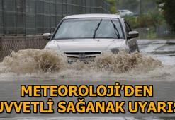 Meteorolojiden kuvvetli sağanak uyarısı İstanbulda hava durumu bugün nasıl olacak