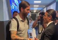 Nusret, Ramos ve Marcelo ile beraber
