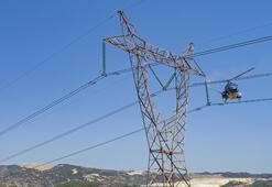 Elektrik hatlarına havalı temizlik