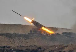 Bakanlık duyurdu Tel Rıfattaki terör hedefleri yerle bir edildi