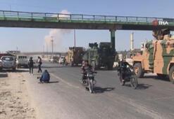 Suriyede Türk askeri konvoyuna hava saldırısı