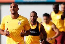 Galatasarayda Nzonzi ilk antrenmanına çıktı
