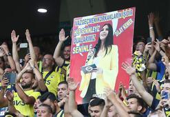 Fenerbahçe taraftarından Dilay Kemere tam destek
