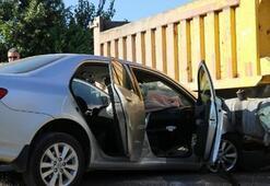 Ölümden döndü Kamyonla otomobil çarpıştı