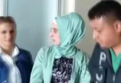 Uyuşturucu kuryesi kadın karnına sardığı 1,5 kilogram eroinle yakalandı