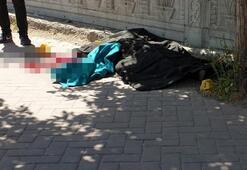 Sokak ortasında vurulan kadını kocası öldürmüş