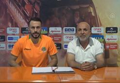 Alanyaspor, yeni transferi Lokman Gör için imza töreni düzenledi