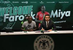 Konyaspor, Farouk Miyayı transfer etti