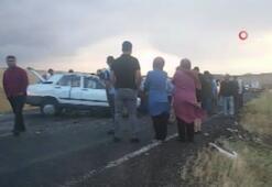 Aksarayda trafik kazası