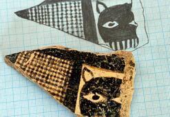 8 bin yıllık leopar maskesi figürü bulundu