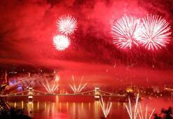 Budapeştede görkemli kutlama