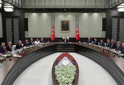 Cumhurbaşkanlığı Kabinesi Külliyede toplandı