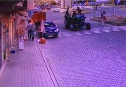 Traktörün römorku çıktı, genç çift ölümden döndü