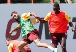 Galatasarayda Belhanda idmana çıkmadı