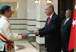 Cumhurbaşkanı Erdoğan 4 ülkenin büyükelçisini kabul etti