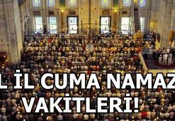Cuma namazı saat kaçta kılınacak İstanbul, Ankara, İzmir cuma namazı vakitleri
