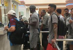 Trabzonspor kafilesi Trabzona döndü