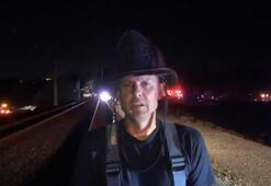 Kaliforniya'da bir tren raydan çıktı: 22 yaralı