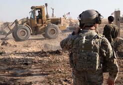 CENTCOMa göre terör örgütü YPG/PKK siper yıkıyor