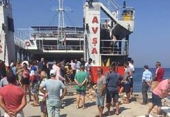 Son dakika... Avşa Adasında feribot faciası Yaralılar var