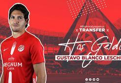 Antalyaspor, Arjantinli santrfor Leschuku transfer etti