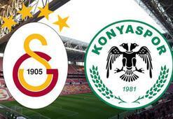 Galatasaray Konyaspor maçı ne zaman saat kaçta hangi kanalda canlı yayınlanacak İlk 11ler...