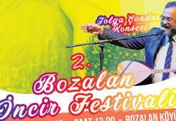İncir festivalinde Tolga Çandar konseri