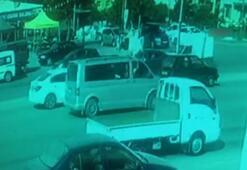 Otomobilin çarptığı genç kız metrelerce havaya savruldu